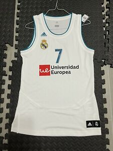 Authentic Adidas Luka Doncic Real Madrid Jersey