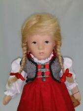 Käthe Kruse Puppe, 35H, Mia, 35cm, Puppe IX, 040345, mit Originalkarton