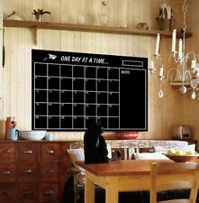 Dry Erase Board Blackboard Calendar Chalkboard Wall Sticker Soft Board Stickers