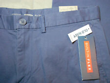 NEW OLD NAVY 34 x 30 pants blue SLIM STRETCH FLAT FRONT men's mens NWT