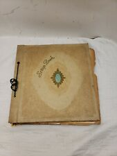 Vintage Scrapbook, 30's-50's, WWII Clippings, Greeting cards, Canada