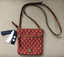 $128 Dooney & Bourke Boston Red Sox Double Zip Crossbody Shoulder Bag NWT!