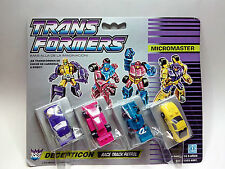 TRANSFORMERS Micromaster - Decepticon - RACE TRACK PATROL  *** NEW**** SEALED