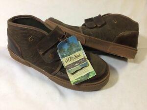 Olukai KAHA DARK JAVA MEN's Leather Boots Size 9 EUR 42