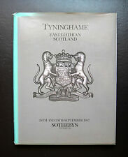 SOTHEBY'S THE CONTENTS OF TYNINGHAME EAST LOTHIAN SCOTLAND 28 /29 SEPTEMBER 1987