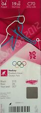 TICKET Olympia 4.8.2012 Women's Hockey USA - Neuseeland C70