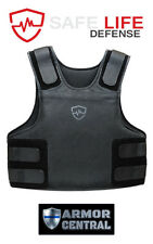 Safe Life Defense Level IIIA Body Armor Multi-Threat Bullet Proof Vest - Medium