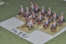 15mm Francese Napoleonico CAVALLERIA 14 CAVALLERIA (14321)