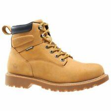 Men'S Wolverine Floorhand Waterproof Steel Toe Workboot Size 10.5W Wheat W10632