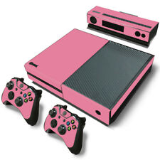 Pink Xbox One Skin for Xbox One Console and Controllers