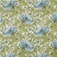 iLiv Art Deco Cornflower Cotton Curtain/Upholstery/ Soft furnish Fabric