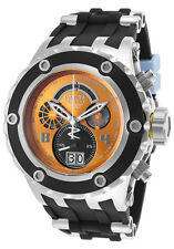 New Mens Invicta 16253 Mens Subaqua Swiss Chronograph Cool Orange Dial Watch