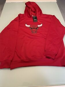 Chicago Bulls Nike Red Hoodie Size XXL. New with tags!
