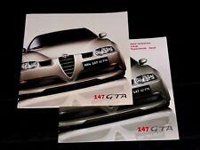Alfa Romeo 147 GTA prospekt/brochure/folder 2003 j.polski