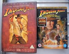 Indiana Jones 1-4 dvd boxset & Crystal Skull Dvd  R2 in Watched Once Condition