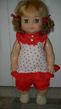 "Vintage 1971 Beautiful Condition!! HORSMAN Drink & Wet Doll w/ orig shoes 17"" C"