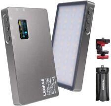 LAOFAS Full Color RGB LED Video Light CRI95+ 2500k-8500k Adjustable OLED Screen