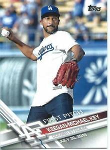 2017 Topps Series 1 Baseball FIRST PITCH #FP-7 Keegan-Michael Kay - Dodgers