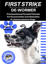 Medium Dog broad spectrum dewormer 6 uses