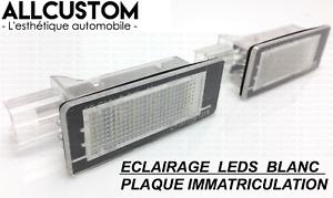 LED LEDS LUZ LUCES PLACA MATRICULA BLANCO XENON POTENTE para RENAULT ESPACE IV 4