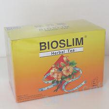 5x Bioslim Tea Bio Slim Mild Laxative Herbal Tea Bags(30) 保秀麗 窈窕 茶 葉 Switzerland