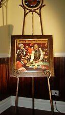 KENNY ROGERS THE GAMBLER AUTOGRAPHED / SIGNED FRAMED ALBUM! ( KEWORD CD ) POKER