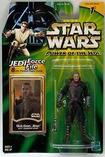 Figuras De Star Wars Qui Gon Yinn Jedi Training Gear Potj cardada potencia del Jedi