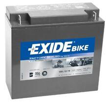 Batteria moto GEL Exide GEL12-16 12V 16AH 100A 180X75X165MM