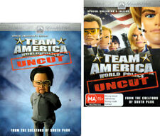 'Team America World Police UNCUT Special Collector's Edition- DVD with Slipcover