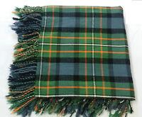 "Men's Kilt Fly Plaid Ferguson Tartan /Scottish Kilt Fly Plaid Ferguson 48""X48"""