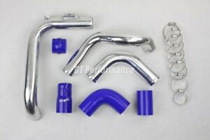 Kit piping Megane 2 RS 225 230 manguera duro tubo pipe admission entrada Blue