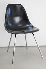 Charles Eames DSX Fiberglas Sidechair Vitra Herman Miller schwarz black 1 von 12