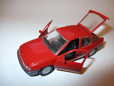 Opel Vectra A Fließheck hatchback in rot rouge rosso red, GAMA in 1:43!