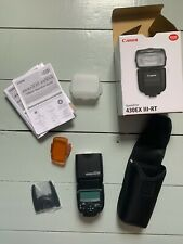 Canon Speedlite 430EX III-RT Flash for Camera - Mint condition