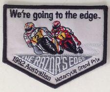 1992 AUSTRALIAN MOTORCYCLE GRAND PRIX CLOTH PATCH HONDA YAMAHA SUZUKI MOTO GP