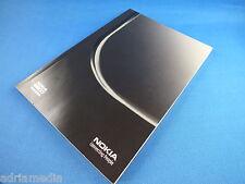 Original Nokia 8800 Sirocco Black Edition Bedienungsanleitung Buch Anleitung NEU