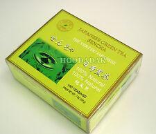 100 Teabags of Premium Japanese Green Tea SENCHA 100% natural, Tea Plus Brand