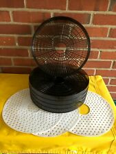 New Listing5 Ronco Food Dehydrator Replacement Trays Plus 3 Herb and Fruit Liners