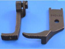 Industriale macchina piede CHE CAMMINA ZIP FOOT WORKS su Juki Singer LU563, 111, Seiko +