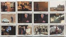 James Bond Autographs & Relics Skyfall Gold Foil Parallel 12 Card Lot