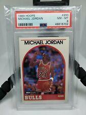 1989 NBA Hoops Michael Jordan #200 PSA 8 NM-MT!!!