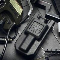 Molle Meg Tourniquet Carrier Pouch Storage Bag Hunting Holsters Holder Case BK