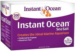Instant Ocean Sea Salt for Marine Aquariums, Nitrate & Phosphate-Free 200-Gallon