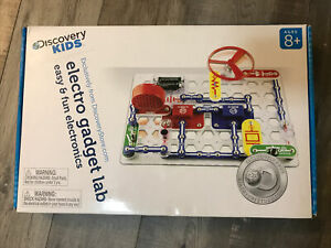 Discovery Kids Electro Gadget Lab With Project Manual - New