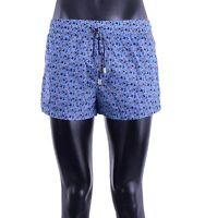 DOLCE & GABBANA Beachwear Badeshorts Boxer mit Fussball Print Blau Shorts 05384