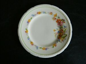 Vintage SWINNERTONS Bread Plate Staffordshire England MAJESTIC VELLUM England