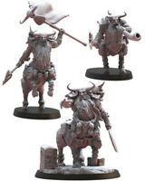 Lost Kingdom Miniatures Bul-Thaurs Command Group Kings of War, 9th Age