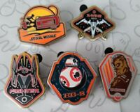Star Wars The Force Awakens Booster Mini Set 2015 Choose a Disney Pin