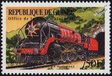 Indian Railways Baldwin Class WP 4-6-2 Steam Train Locomotive Stamp #1 (India)