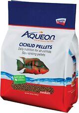 New listing Aqueon Cichlid Medium Pellet Mini Fish Food 1.56 lbs Slow Sinking Pellets New